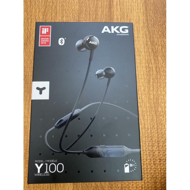 AKG Y100藍芽耳機