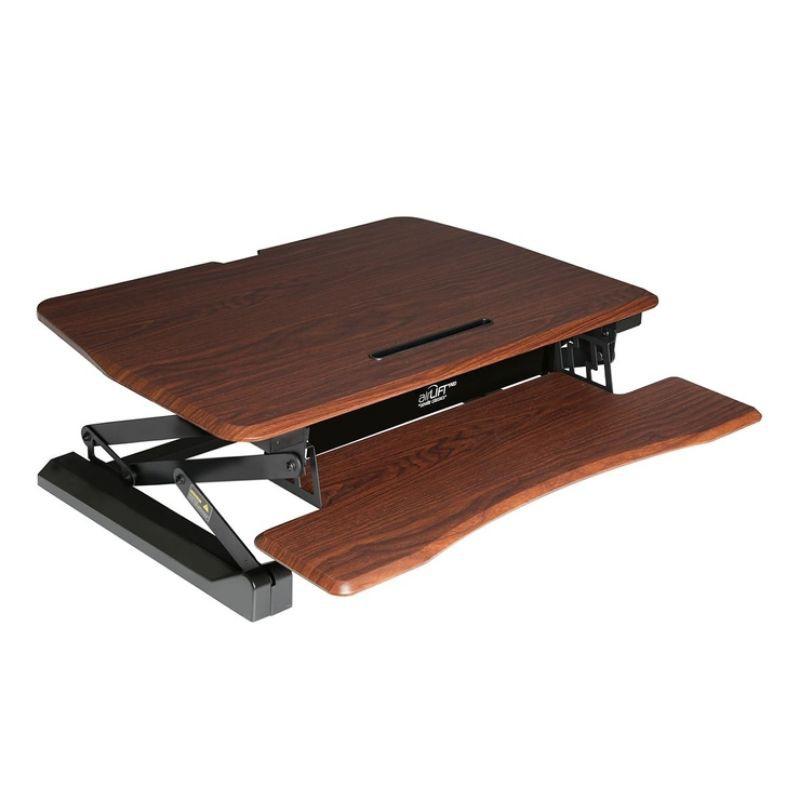 🙋免運  好市多 Airlift Pro 電動桌上型升降台 棕色