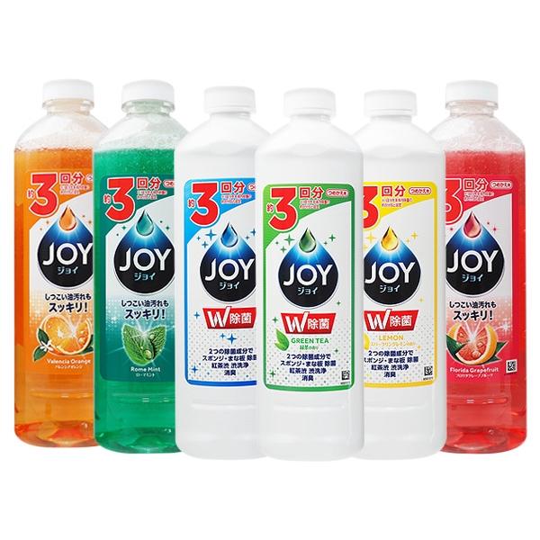 日本P&G JOY速淨除油濃縮洗碗精(補充罐)400ml/440ml【小三美日】D675079