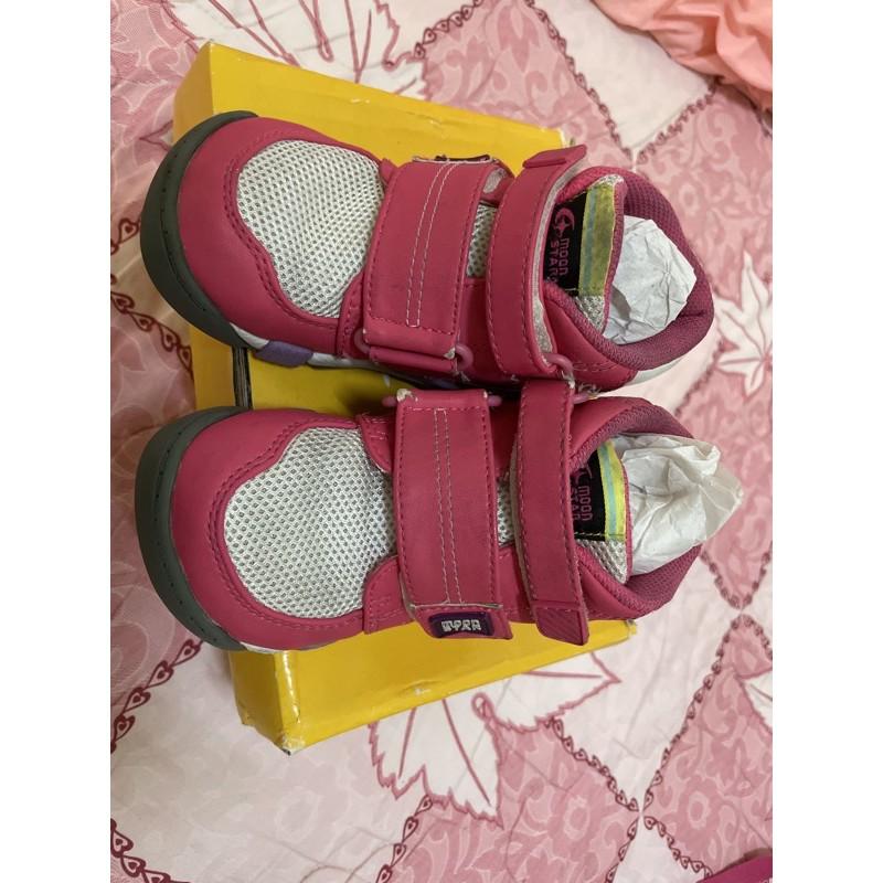 moonstar童鞋 機能鞋 矯正鞋 17cm
