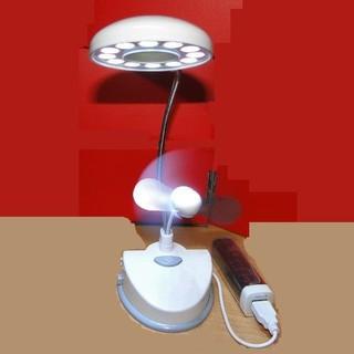 (大樹的家): AW:8738 USB檯燈風扇 AWANA USB 檯燈12顆LED大特價 高雄市