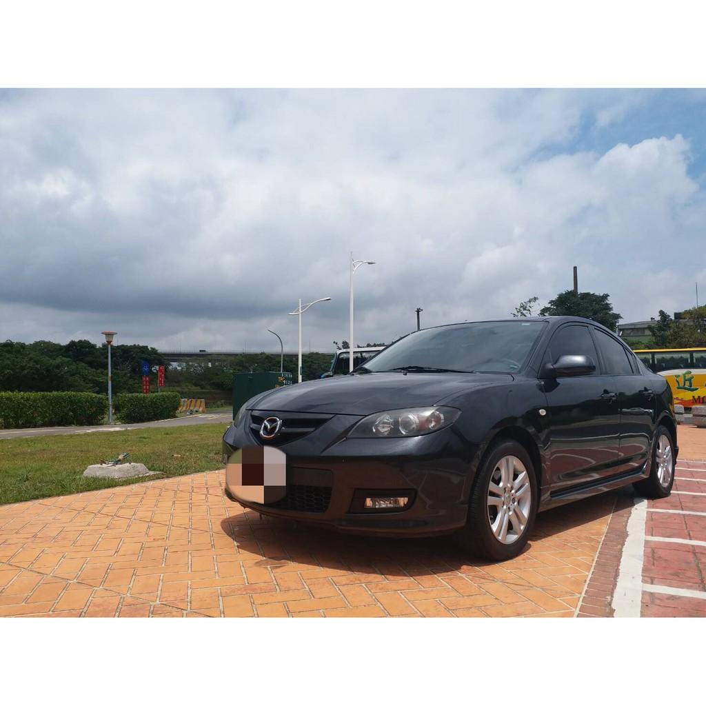 2009年MAZDA 3 2.0 S 黑色 4門(汽車全額貸款、買車找錢、信用瑕疵、皆可辦理)