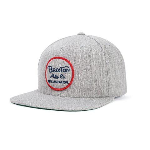 Brixton Wheeler 帽子 (灰)《Jimi Skate Shop》