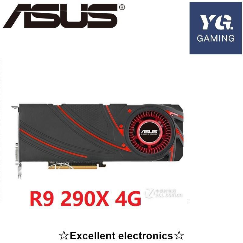 ASUS 華碩使用原裝圖形 R9 290x 4gd5 R9 290x