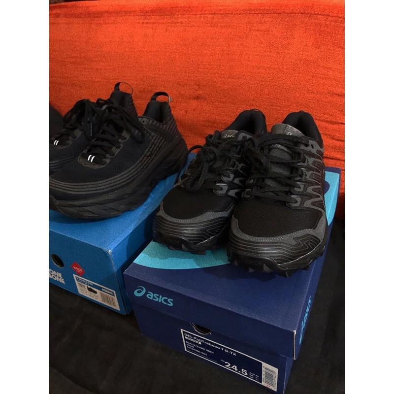 (二手)ASICS gel-fujiTrabuco 7 G-TX復古登山鞋 女