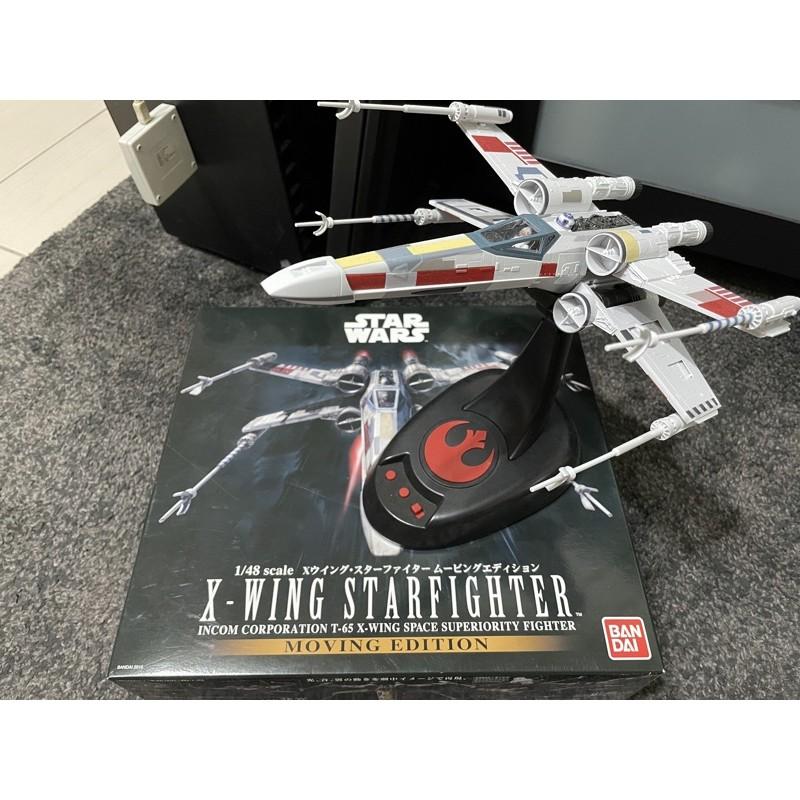 BANDAI STAR WARS 1/48 X-WING STARFIGHTER X翼戰機 可動版