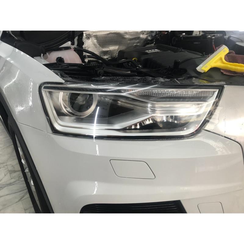 Audi Q1 Q3 Q5 Q7 大燈 燈膜 透明膜