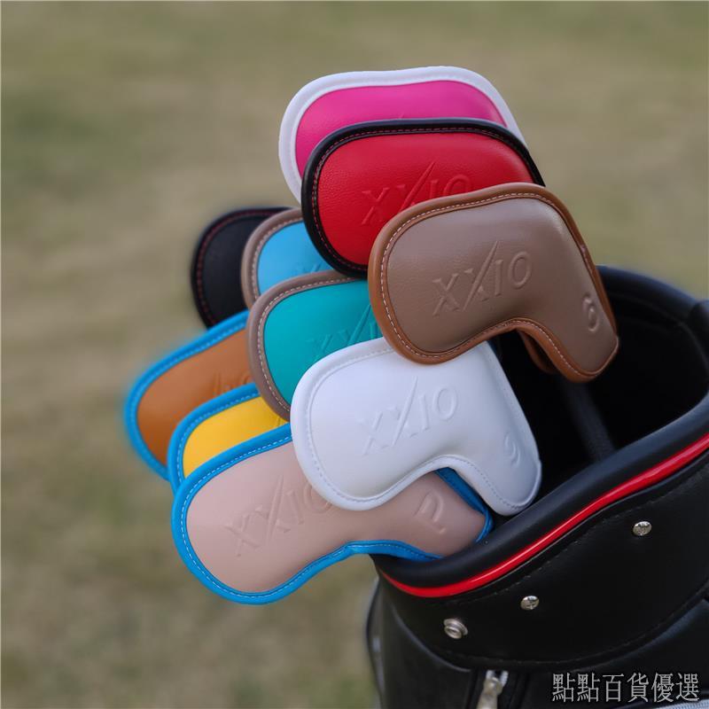 STRIVE-XXIO高爾夫球鐵桿套 桿頭套帽套 球桿保護套高爾夫球桿XX10球頭套