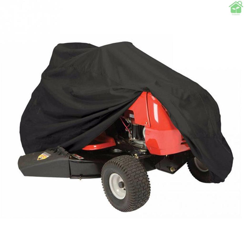 【 Gree 】割草機罩防水防紫外線拖拉機罩防塵便攜式山地車自行車摩托車罩, 帶抽繩戶外天氣保護
