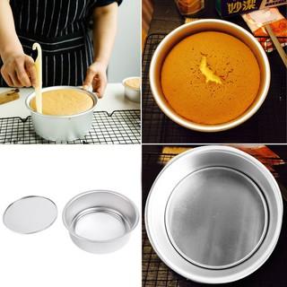 8吋活底可拆式蛋糕模 鋁合金 加厚 蛋糕模 圓蛋糕烘烤模具 烤箱用