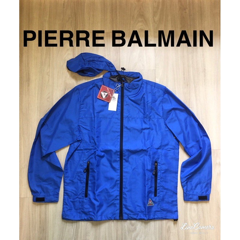 * pierre balmain*法國PB 藍色款 防潑水/透氣/超輕柔/速乾 風衣外套