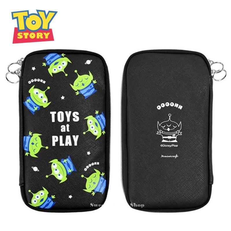 DISNEY 迪士尼 玩具總動員 日本限定筆袋 三眼怪 多功能 文具袋 / 筆袋 / 鉛筆盒