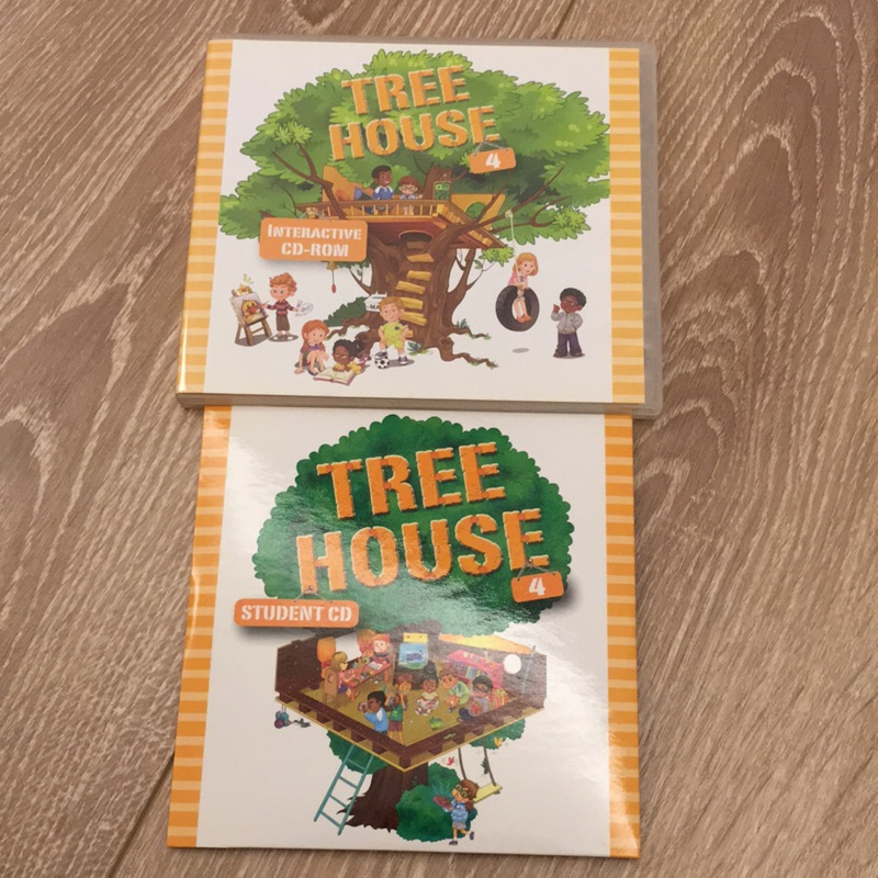何嘉仁tree house4(cd+cd-rom)