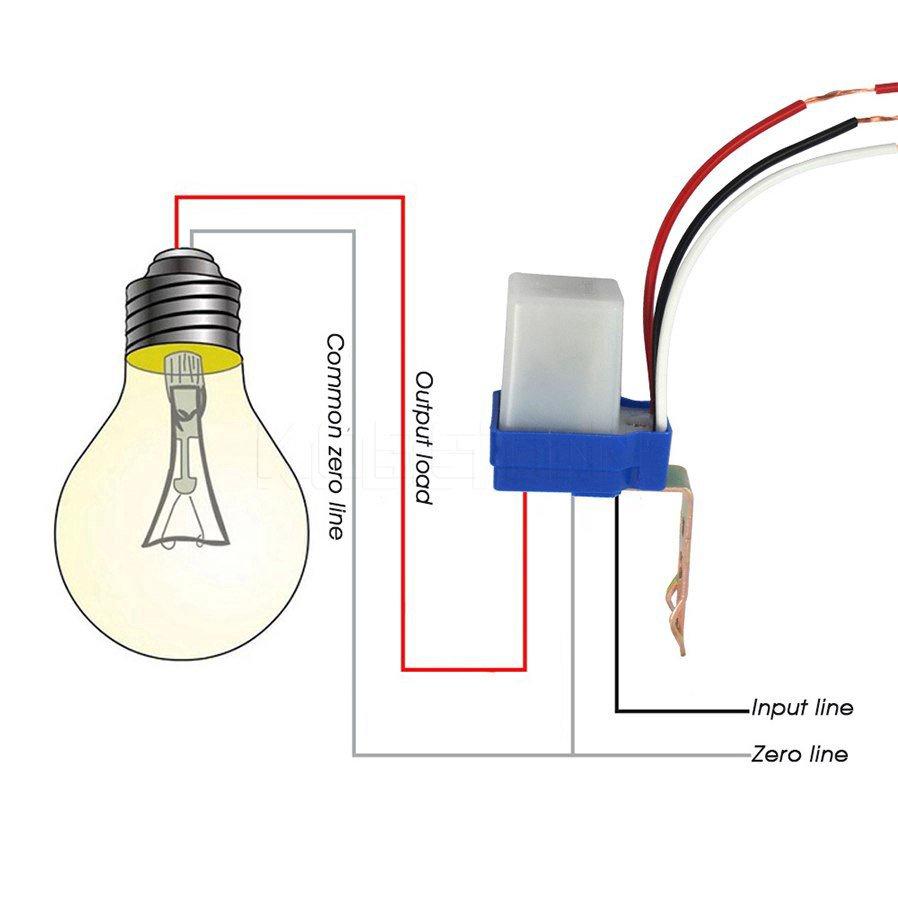 *自動感應開關*紅外線感應器 人體感應自動開關 感應通電 光控感應  110V 220V LED燈 路燈自動開關