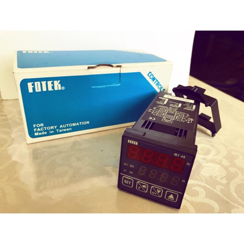 FOTEK 陽明電機 全新 微電腦式溫控器 溫度調節器 MT48-R、MT48-V 溫度控制器
