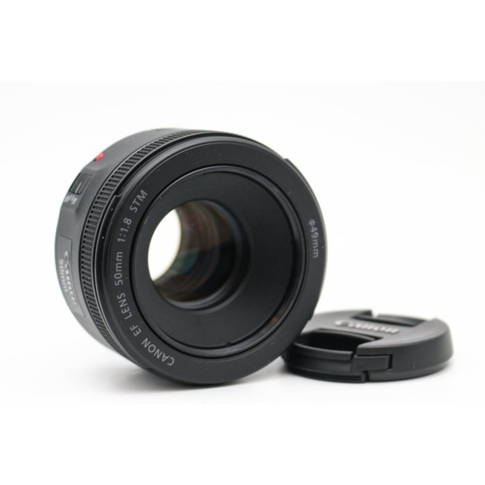 【高雄青蘋果3C】Canon EF 50mm f1.8 STM 定焦鏡 二手鏡頭 單眼鏡頭 #32253