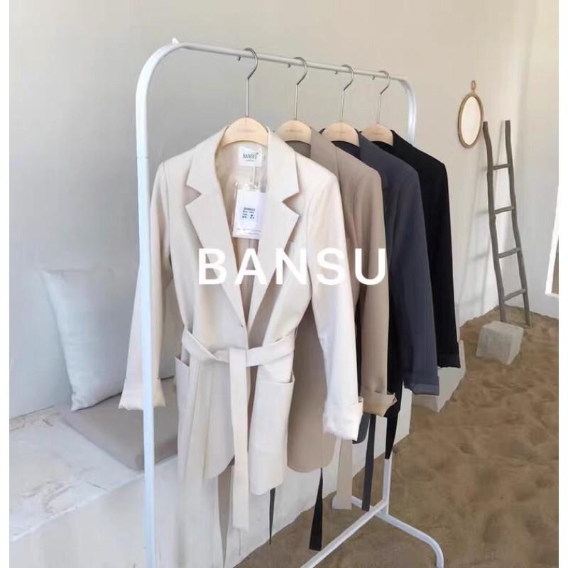 BANSU設計感西裝 #春秋季#西裝外套#休閒#韓系