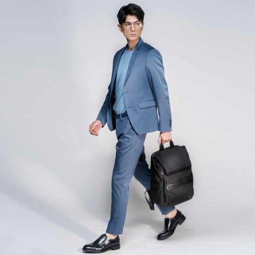 ☆SUMDEX☆人體工學設計 高級後背包 網路最低價 經典 雙用 商務 後背包 時尚 平板包 筆電包 264JB 黑色