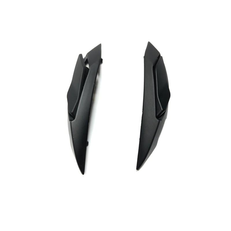 M2R XR3 F2C M3 OX2 配件 頭頂兩側通風孔 消光黑色