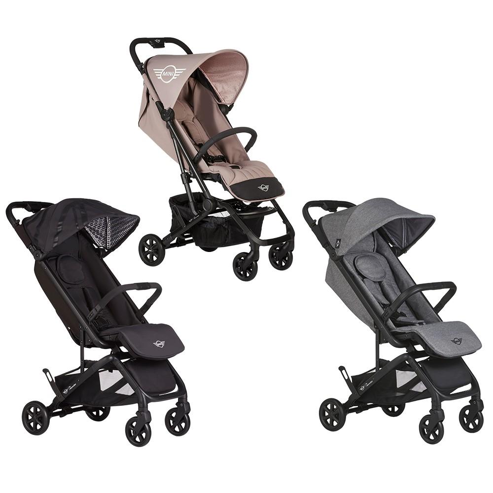 EasyWalker Buggy GO XS 嬰幼兒手推車 送雨罩,收納袋,肩背帶 Mini Cooper聯名經典款