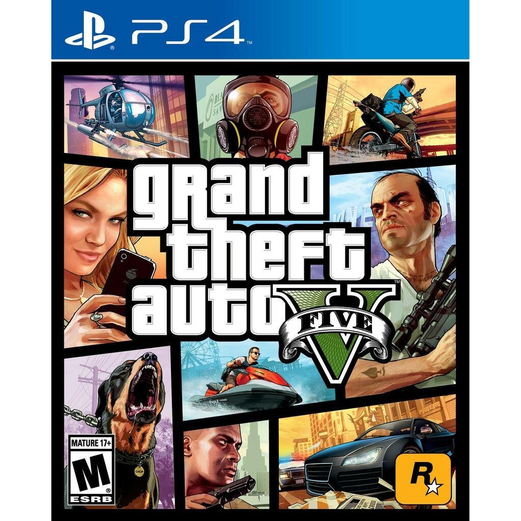 PS4 俠盜獵車手5 GTA5 🀄 永久豪華版/永久普通版 (數位版)