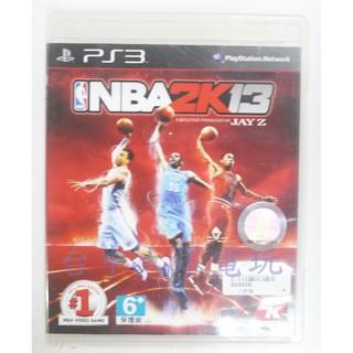 PS3 美國職業籃球 NBA 2K13 (中文版)**(二手片-光碟約9成8新)【台中大眾電玩】