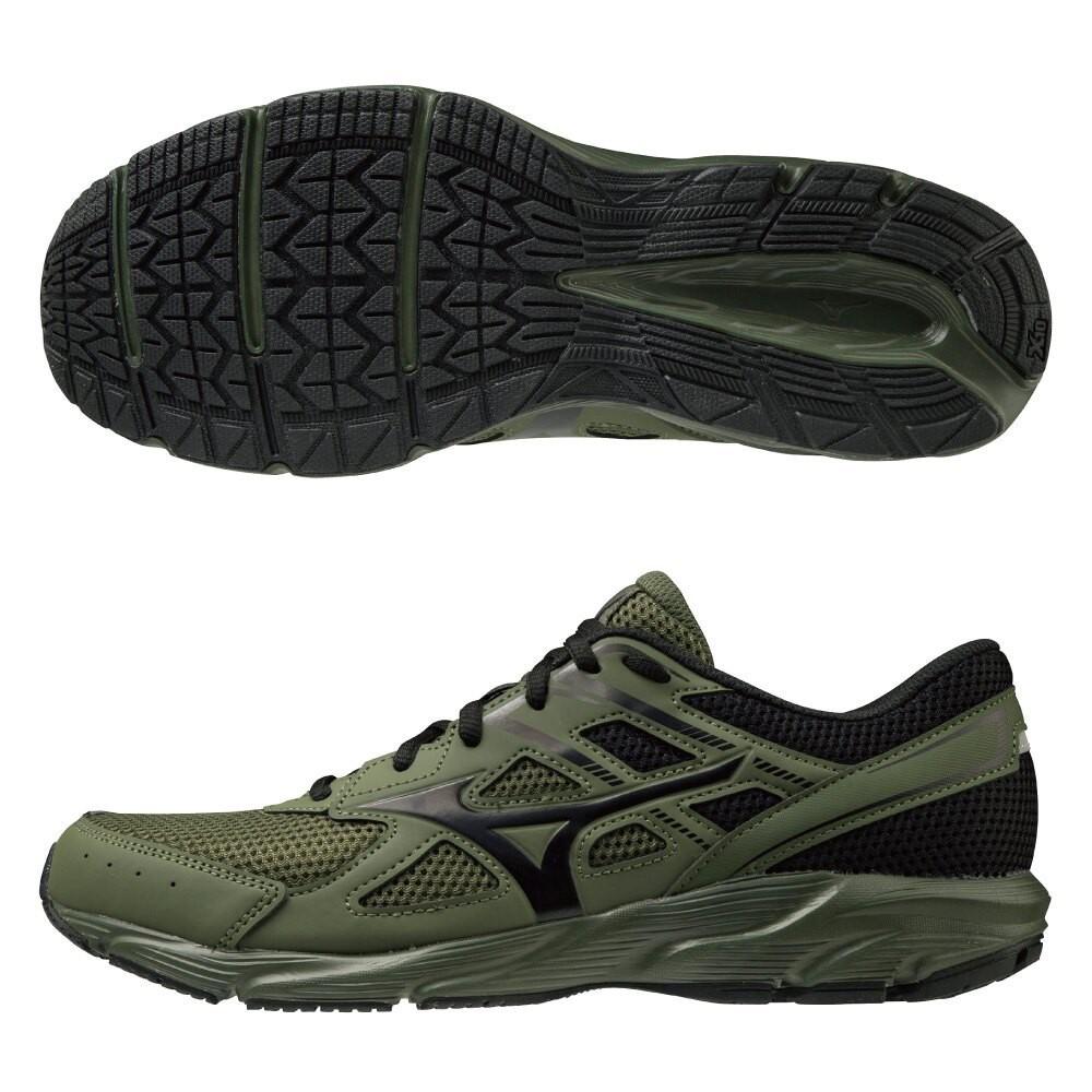 美津濃慢跑鞋 MIZUNO MAXIMIZER 23 男款 慢跑鞋 運動鞋 休閒鞋 男鞋 寬楦 墨綠K1GA210086