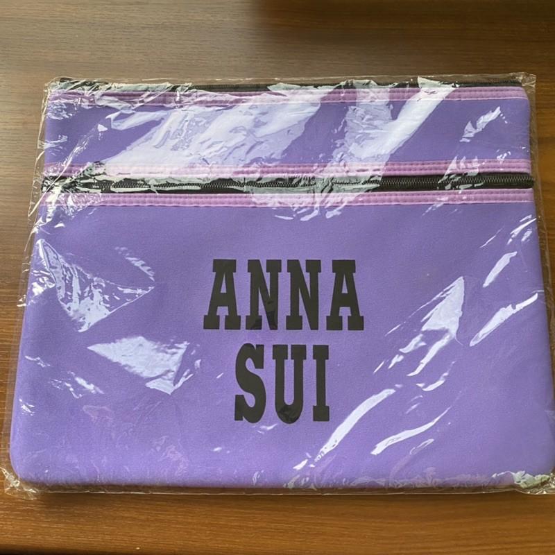 全新 ANNA SUI手提電腦隨身套 化妝包