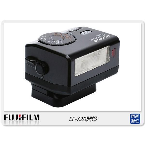 閃新☆預訂~FUJIFILM 富士 EF-X20 閃光燈(EFX20,公司貨)適XPRO2/XT3/XT30/XT100