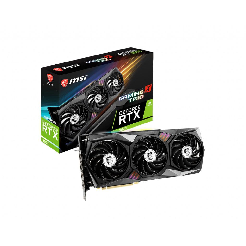 ★TOP 售完 全新 代理貨 微星 RTX3070 GAMING X TRIO 8GB GDDR6 三風扇