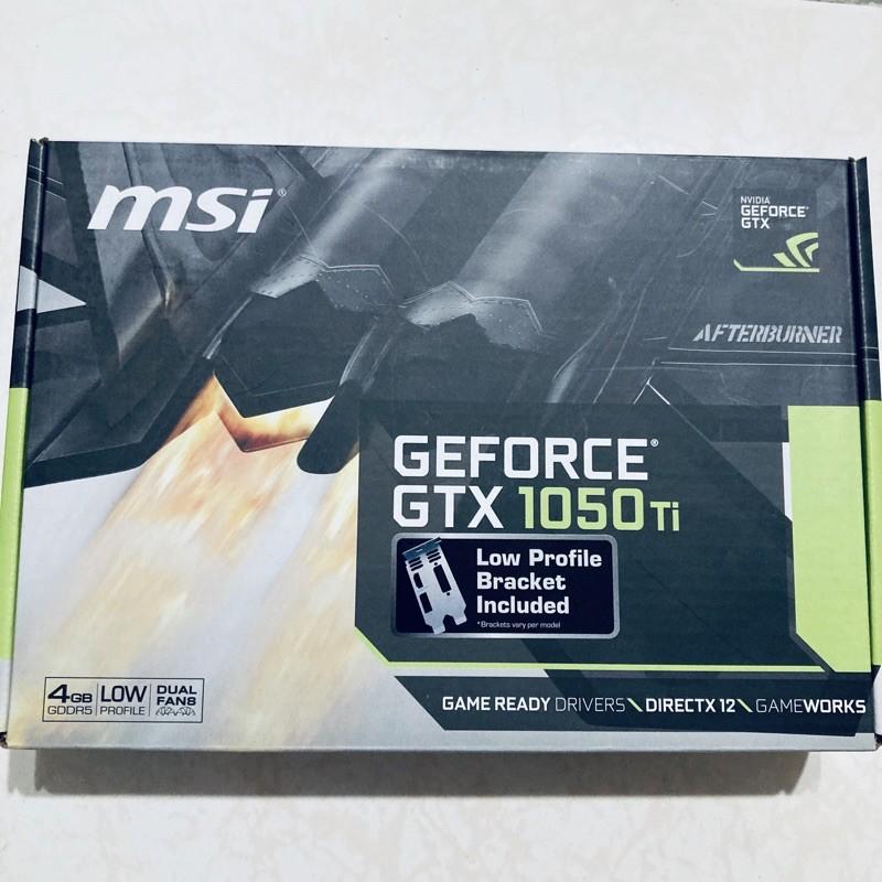 【黑科技電腦】微星GeForce GTX 1050 Ti 4GT LP 顯示卡 / 功能正常 / 卡況良好