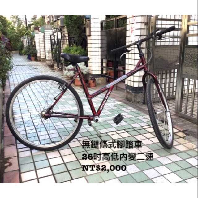 無鏈腳踏車 二手腳踏車 台中市面交