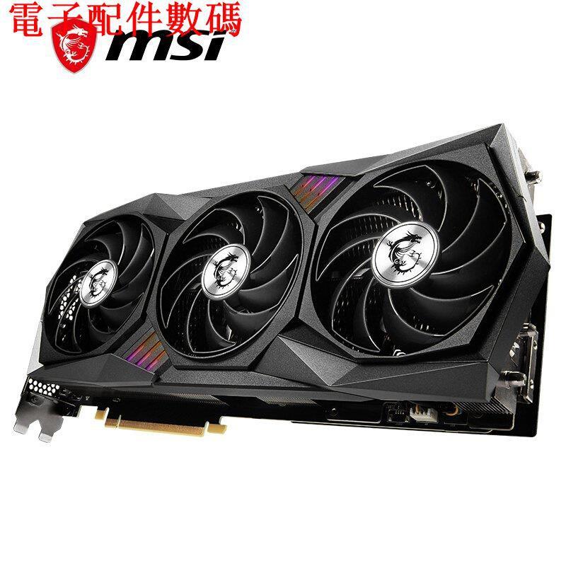 ♨熱賣🔥微星(MSI)魔龍 GeForce RTX 3080 Ti GAMING X TRIO 12G/電子