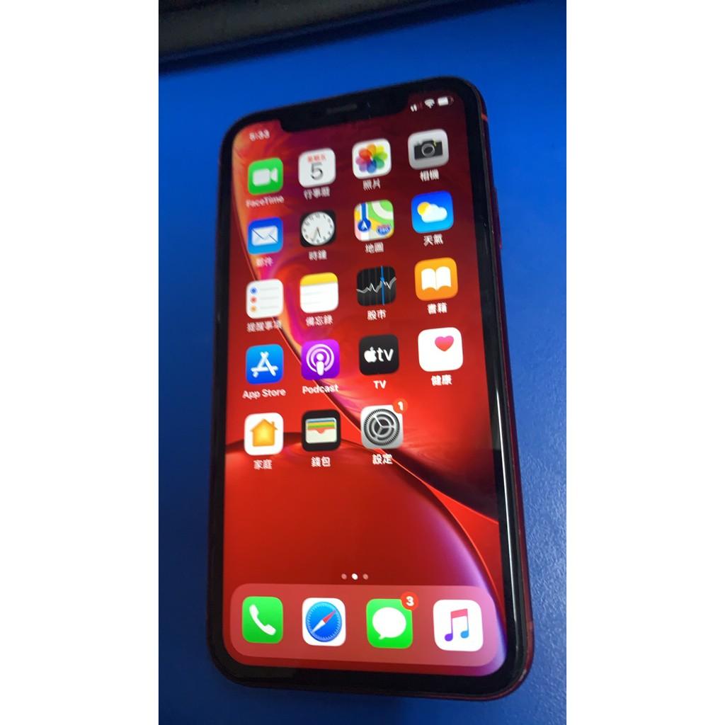 中古的 蘋果 Apple iPhone XR 128G 6.1吋 智慧型手機 二手的 嘉義市可面交 1200萬畫數