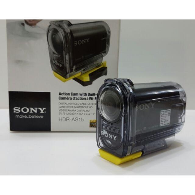 【中古美品】SONY運動型攝影機HDR-AS15