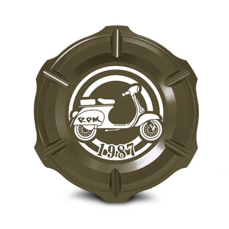 RPM  VESPA 鈻🈴️金油箱蓋(黑 金 灰 橘)4色選擇 門市展售中