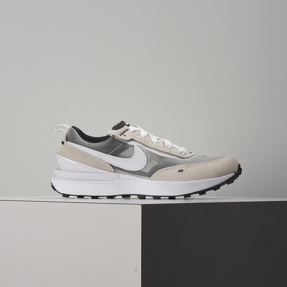 Nike WAFFLE ONE (PS) 中童 米白灰 小Sacai 運動 慢跑 休閒鞋 DC0480-100