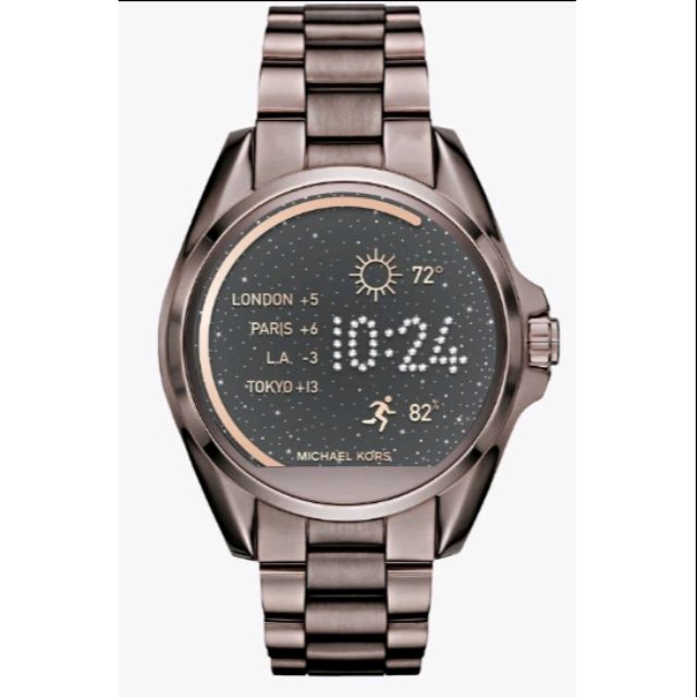 Michael Kors Access mkt5004 4.5mm咖啡色智慧型腕錶