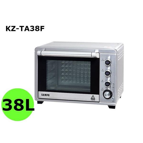 聲寶 KZ-TA38F 電子雙溫控旋風烤箱 38L