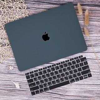 暗夜綠 奶油殼 蘋果筆電 Apple Macbook Air Pro 13 15 保護殼 Mac外殼 電腦殼 鏤空 平面
