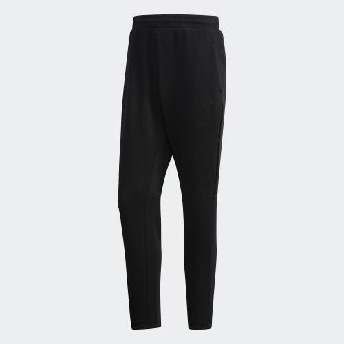 [ROSE] ADIDAS 男裝 長褲 休閒 舒適 黑 EH3752 原價2490 特價1850