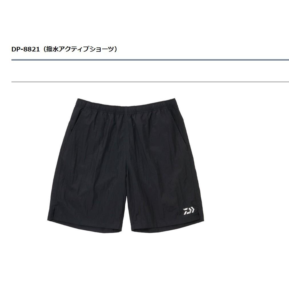 五豐釣具-DAIWA2021最新款薄的~很熱的夏天也可以舒適穿著的潑水.防水短褲DP-8821