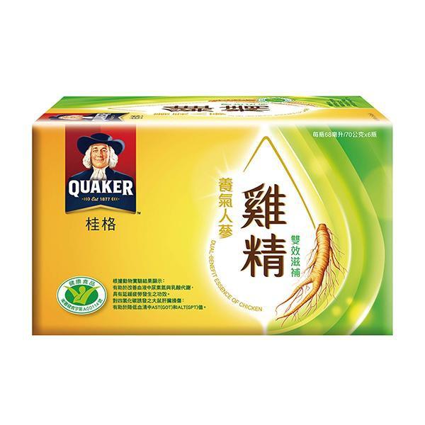 桂格養氣人蔘雙效雞精6入(NEW)【康是美】