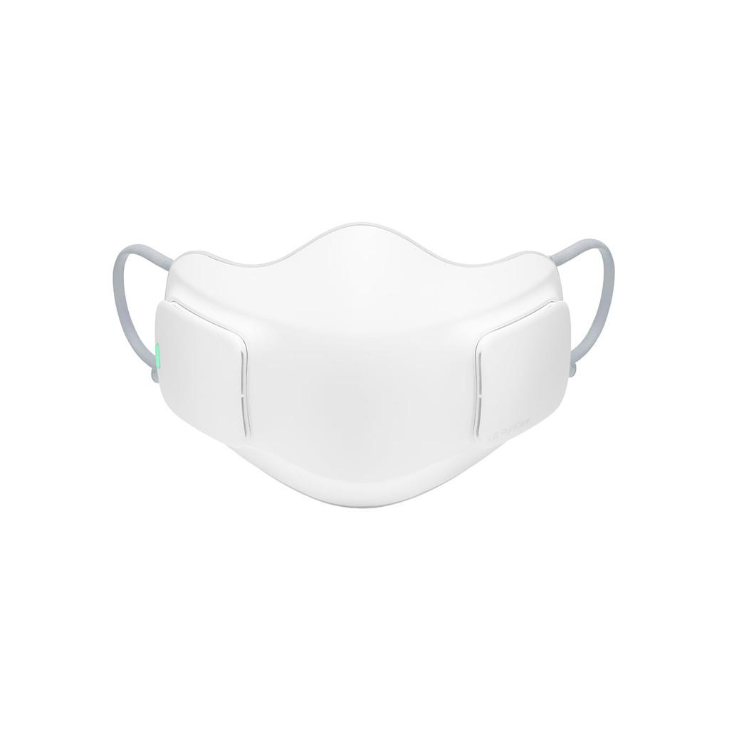 【LG 樂金】韓製PuriCare 口罩型空氣清淨機 全效防護濾網(HEPA 13) 白色 AP300AWFA (預購)