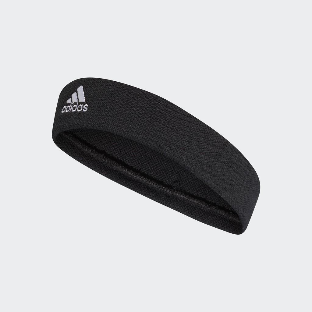 ADIDAS TENNIS HEADBAND 運動頭帶 髮帶 有分寬度 CF6926 黑色【iSport愛運動】