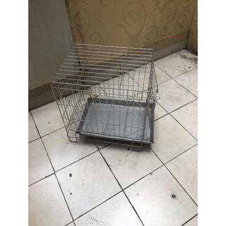 1.5尺鐵籠 狗籠 二手白鐵籠子出售 寵物籠