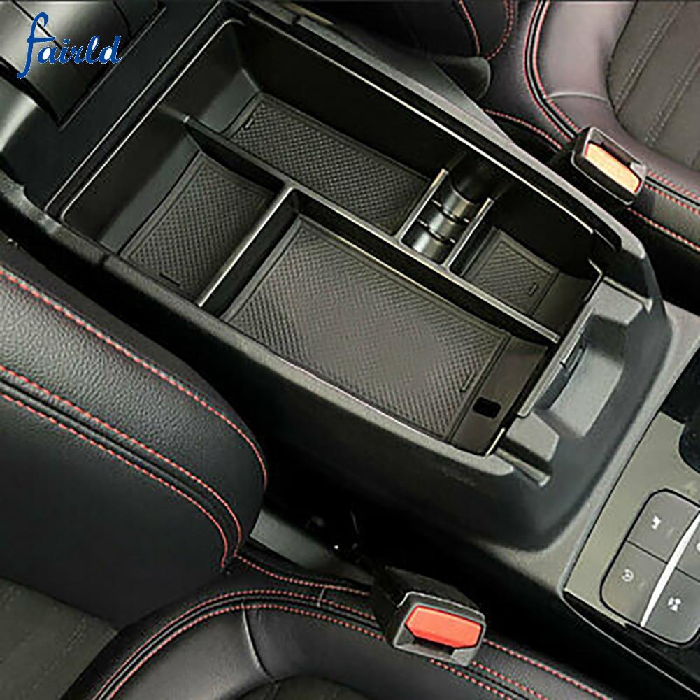 扶手儲物盒 Abs 和橡膠汽車中央控制台, 用於福特 Escape 2020