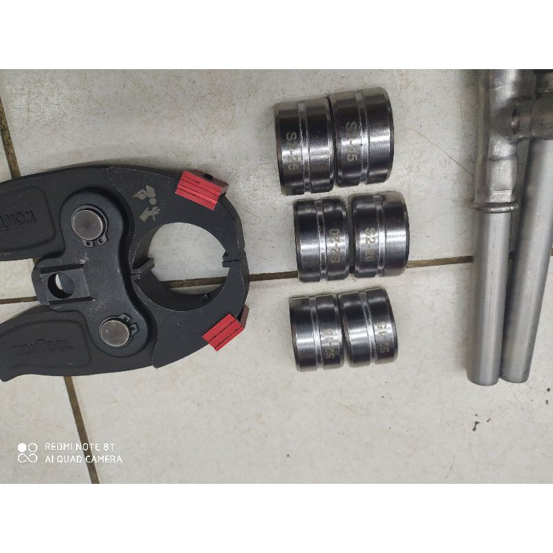 米沃奇6T壓接電纜剪刀壓接水模具4分6分1英吋為一組請看清楚只賣模具不包模具頭