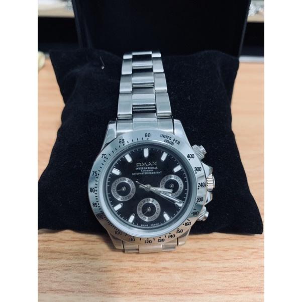 OMAX 歐瑪士 機械錶/手錶/男用錶/三眼多功能