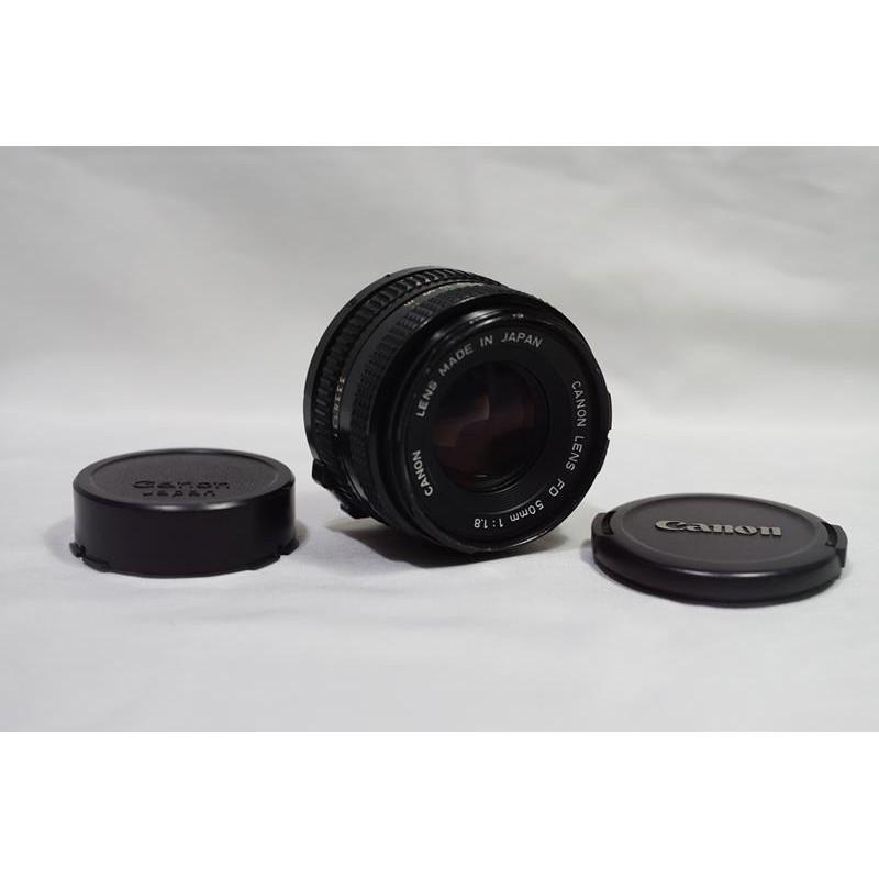 【11月特價】銳利標準鏡頭 CANON FD 50mm F1.8